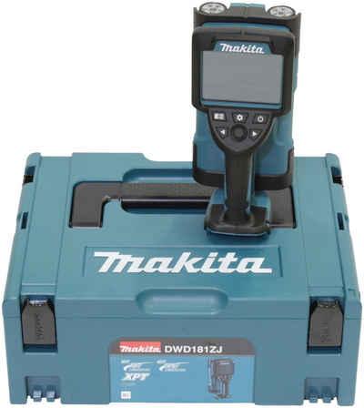 Makita Metalldetektor »DWD181ZJ«, LXT, 18V, +/- 5 mm, 180 mm, ohne Akku und Ladegerät