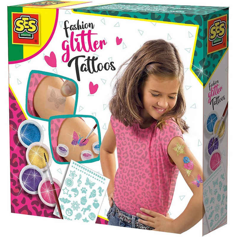SES Creative Schmuck-Tattoo »Fashion Glitter Tattoos«