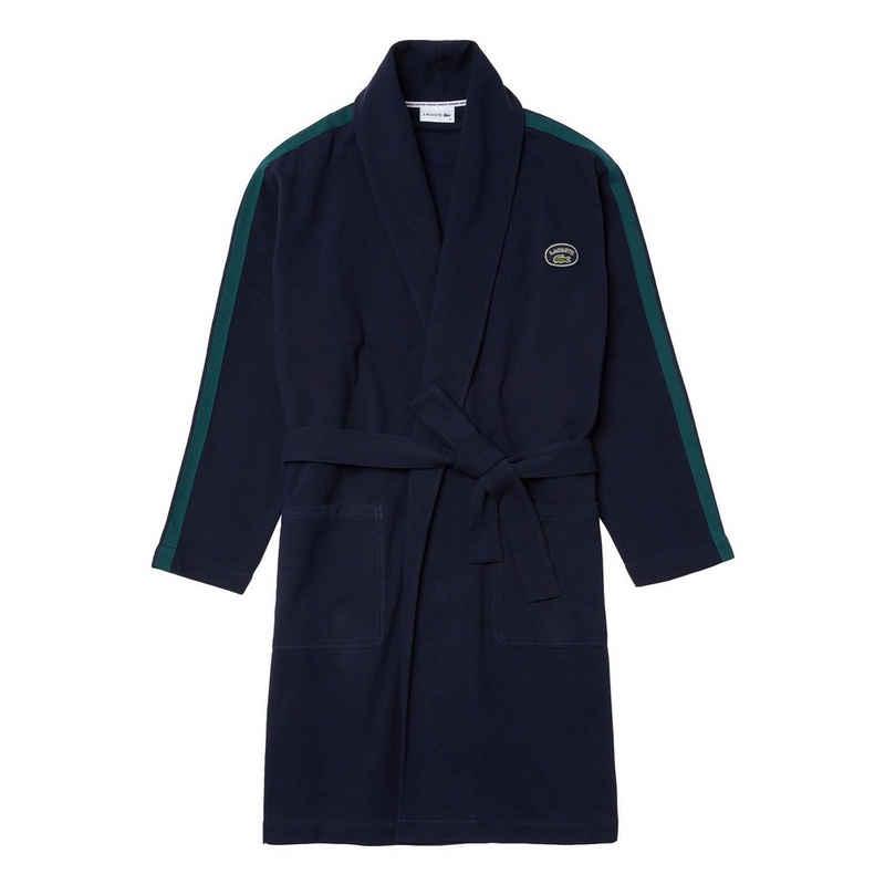 Morgenmantel »Homewear-Mantel«, Lacoste, mit Markenschriftzug aus Frottee auf dem Rücken