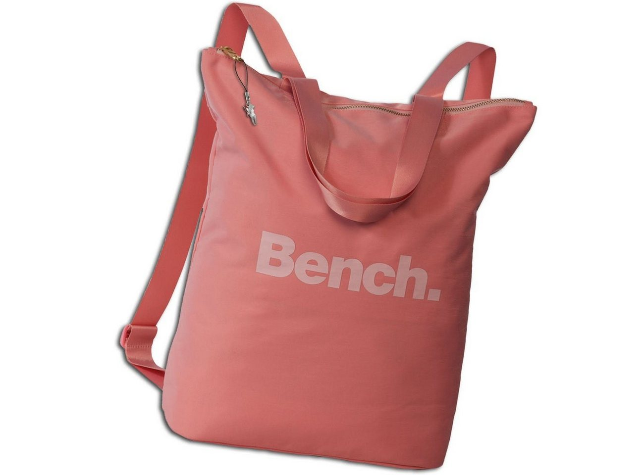 bench. -  Cityrucksack »ORI303X Bench Cityrucksack 30x40x13«, Damen, Jugend Cityrucksack, Henkeltasche Nylon, rosa, altrosa