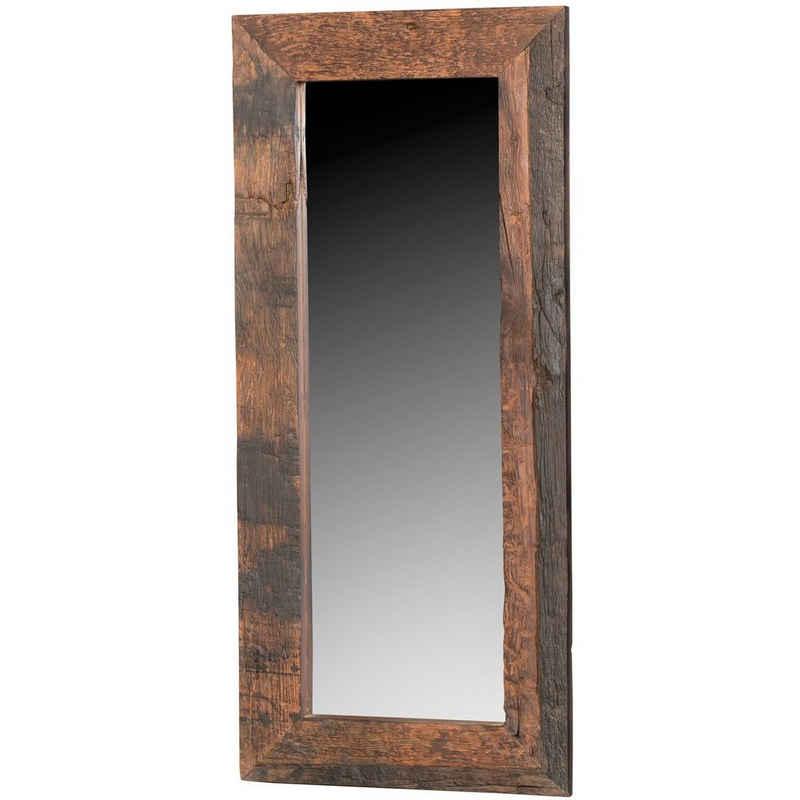 baario Ganzkörperspiegel »Spiegel GASCOG«, Treibholz recycelt Wandspiegel Design Standspiegel