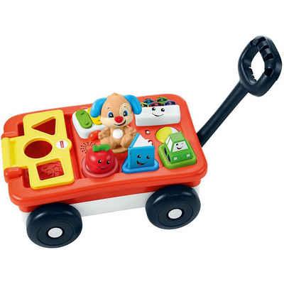 Mattel® Steckspielzeug »Fisher-Price Lernspaß Bollerwagen (D)«