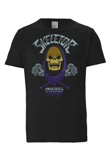 LOGOSHIRT T-Shirt mit großem Masters Of The Universe-Print »Skeletor«