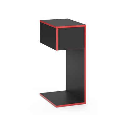 Vicco Gamingtisch »Computerschrank Beistellschrank für Gaming Desk Kron Schreibtisch Ablage«