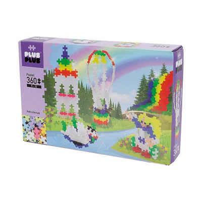PLUS-PLUS Konstruktions-Spielset »PLUS-PLUS Rainbow Hot Air Balloon Pastel, 360«