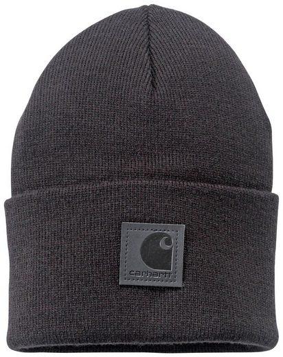 Carhartt Strickmütze »Black Label« mit Carhartt Logo