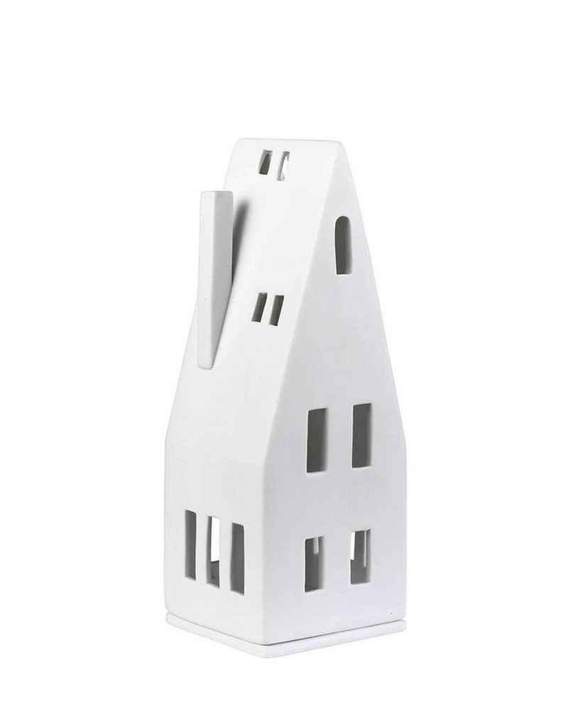 Räder Design Teelichthalter »Lichthaus Groß Spitzdach« (Packung, 1-tlg), Haus Form