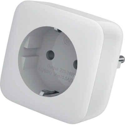 EUROtronic »SmartHome - Zwischenstecker - weiß« Überwachungskamera Zubehör