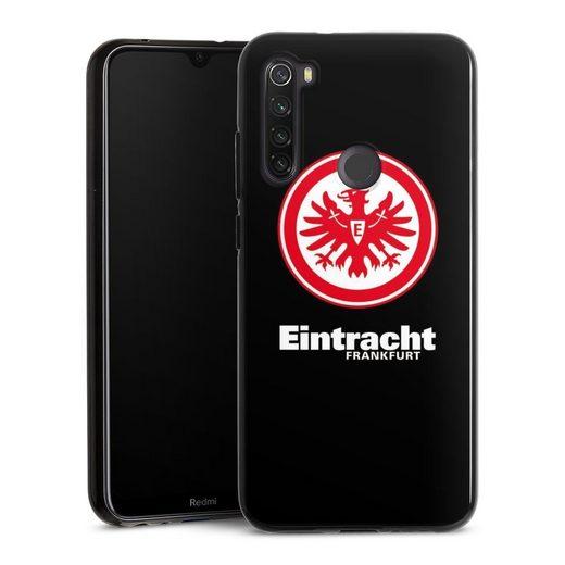 DeinDesign Handyhülle »Eintracht Frankfurt schwarz« Xiaomi Redmi Note 8T, Hülle Eintracht Frankfurt SGE Adler