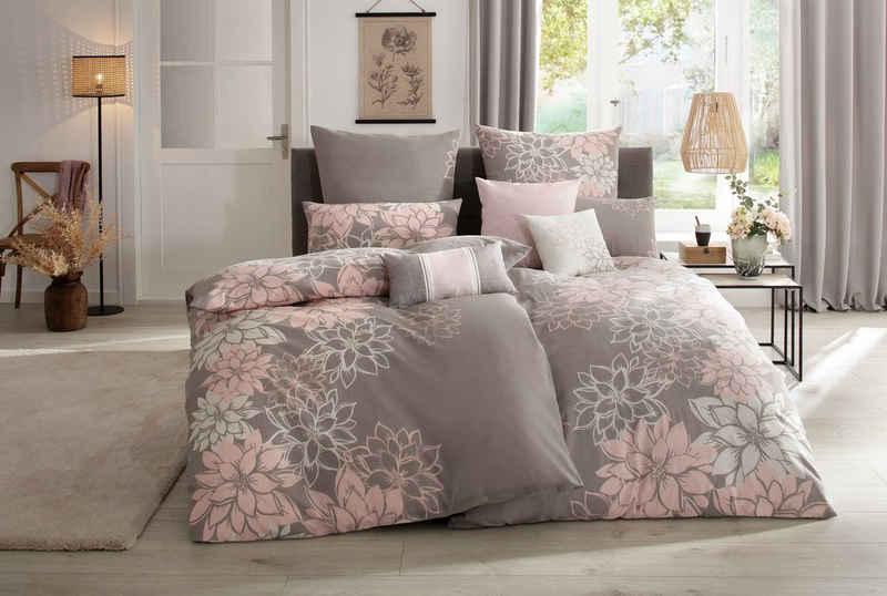 Bettwäsche »Susan«, Home affaire, mit wunderschönen Blumen
