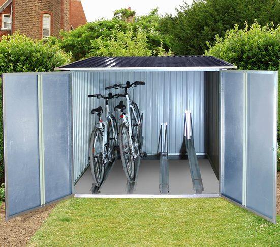 DURAMAX Fahrradbox, BxTxH: 203x202x163 cm