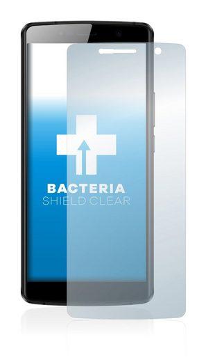 upscreen Schutzfolie »für Leagoo Power 5«, Folie Schutzfolie klar antibakteriell