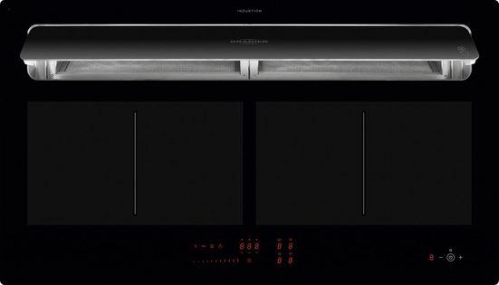 Oranier Induktions-Kochfeld KFL 2092 SL Umluft, Topf-Positions-Erkennung, Grill-Funktion, Touch-Control-Steuerung