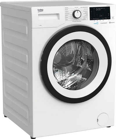 BEKO Waschmaschine WMO91465STR1, 9 kg, 1400 U/min