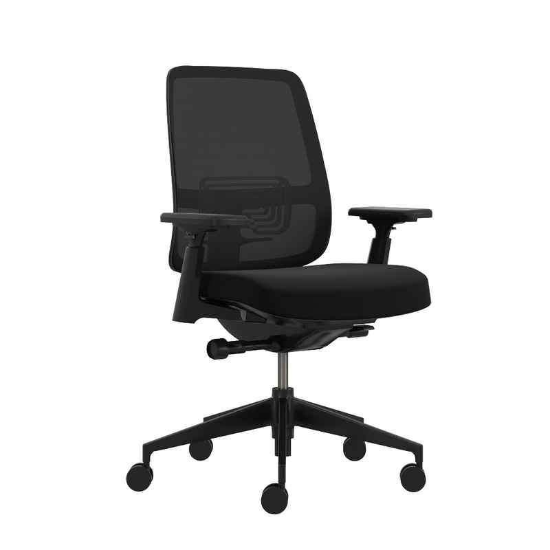 Haworth Drehstuhl »Lively«, Bürodrehstuhl – ergonomisch, bequemer Bürostuhl