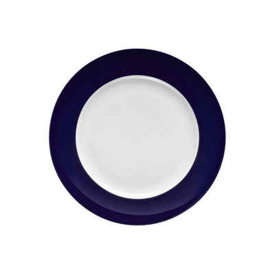 Thomas Porzellan Frühstücksteller »Sunny Day Cobalt blue Frühstücksteller 22 cm«, (1 Stück)