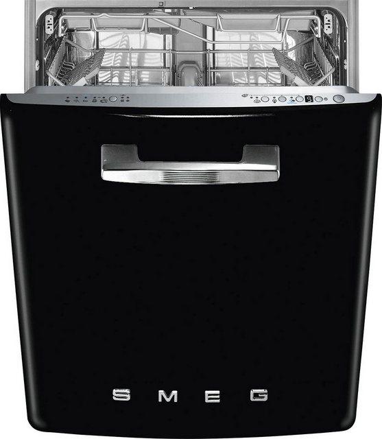 Küchengroßgeräte - Smeg vollintegrierbarer Geschirrspüler, ST2FABBL2, 9 l, 13 Maßgedecke  - Onlineshop OTTO
