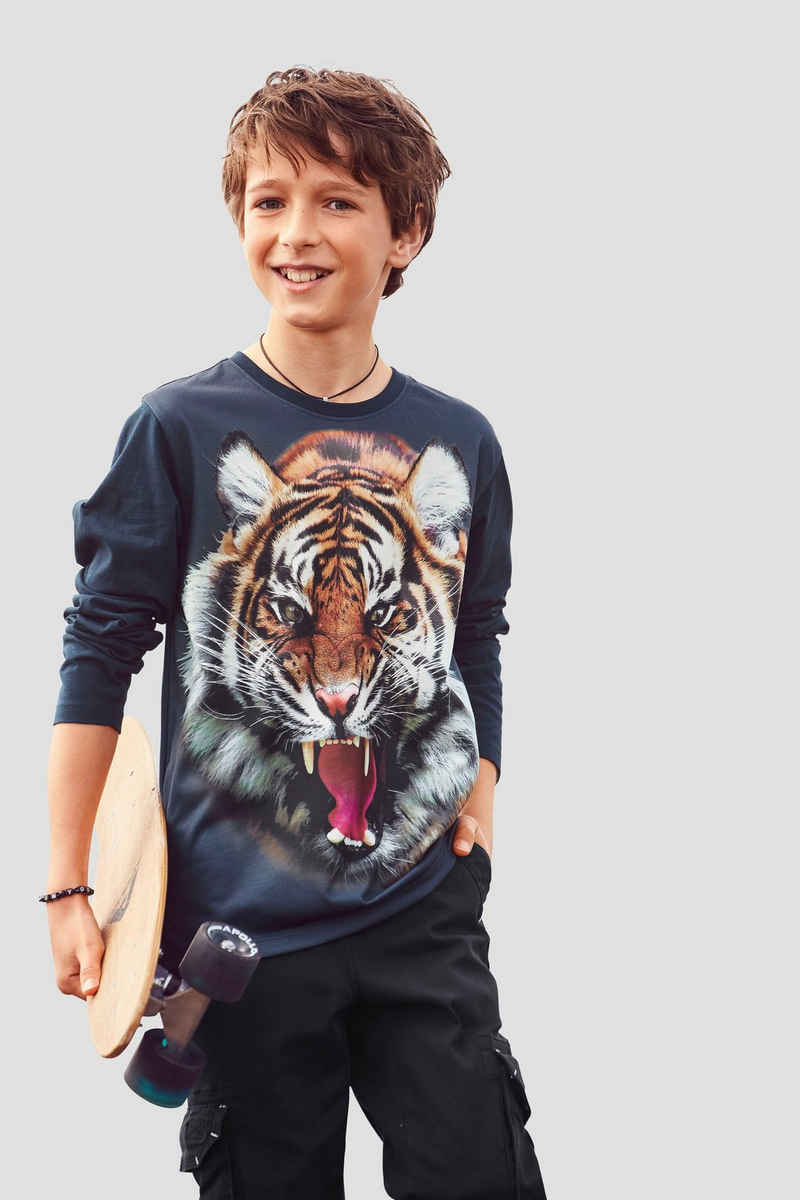 KIDSWORLD Langarmshirt »WILD TIGER«