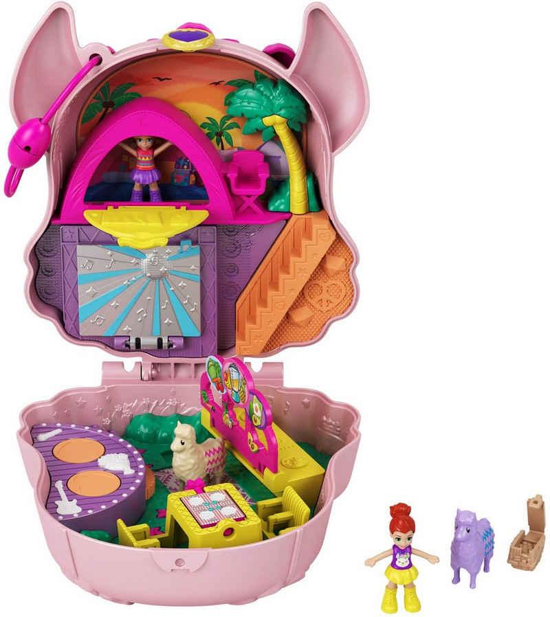 Mattel® Spielwelt »Polly Pocket Lama-Musikparty Schatulle«, Sammelfigur