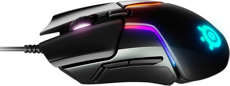 SteelSeries »Rival 600« Gaming-Maus (kabelgebunden, Doppelsensorsystem)