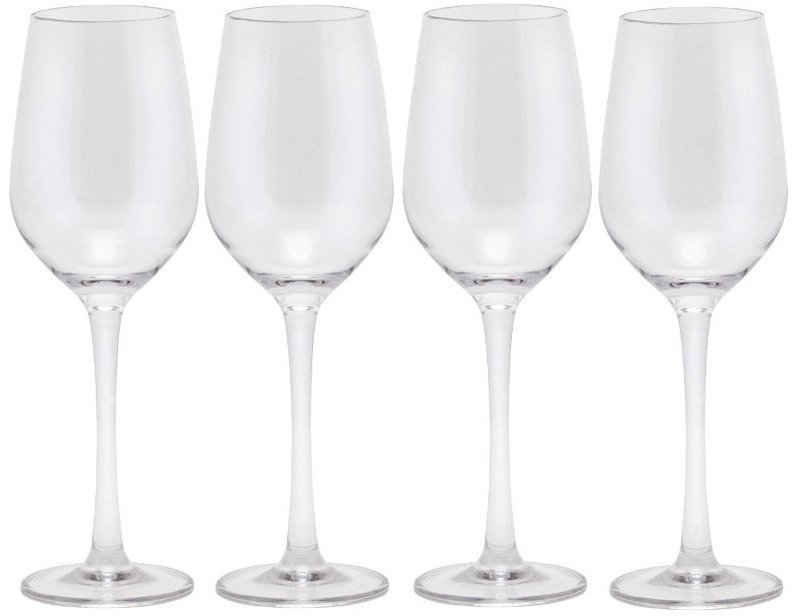 Q Squared NYC Weinglas, Kunststoff, Polycarbonat, 200 ml, 6-teilig