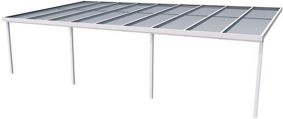 GUTTA Terrassendach »Premium«, BxT: 914x506 cm, Dach Polycarbonat bronce