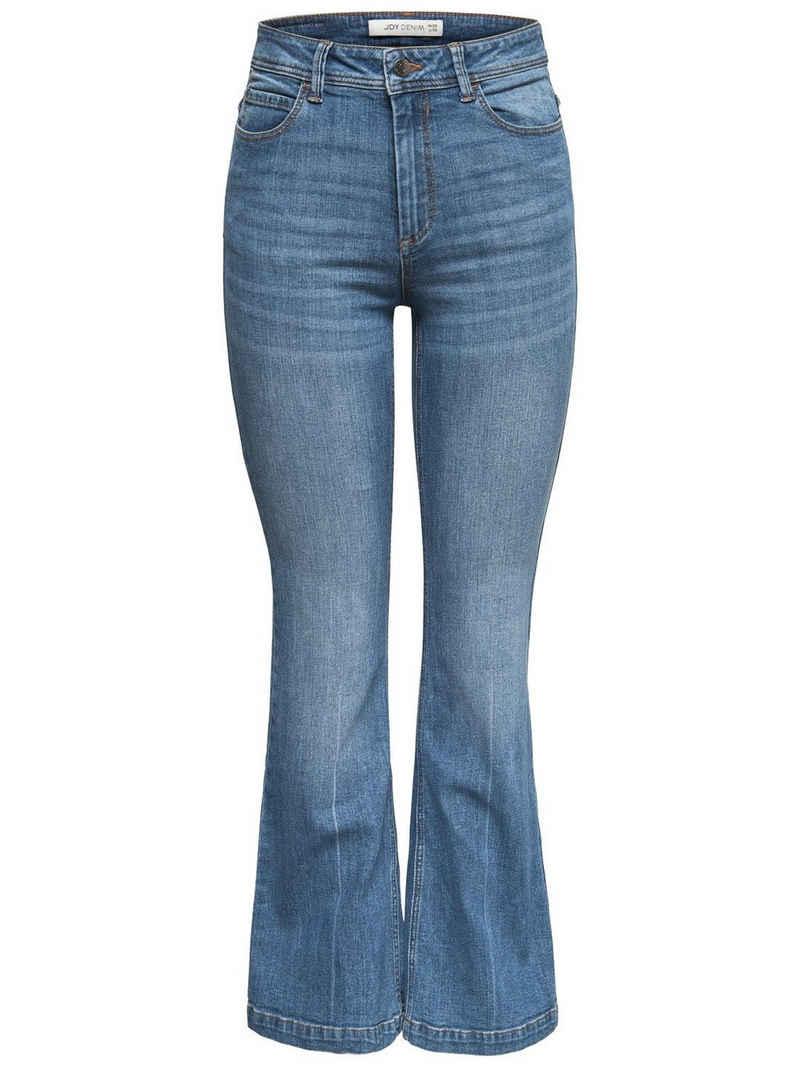 JACQUELINE de YONG Schlagjeans »3701« JDY Damen Flare Jeans Super Stretch Denim Schlaghose JDYFLORA