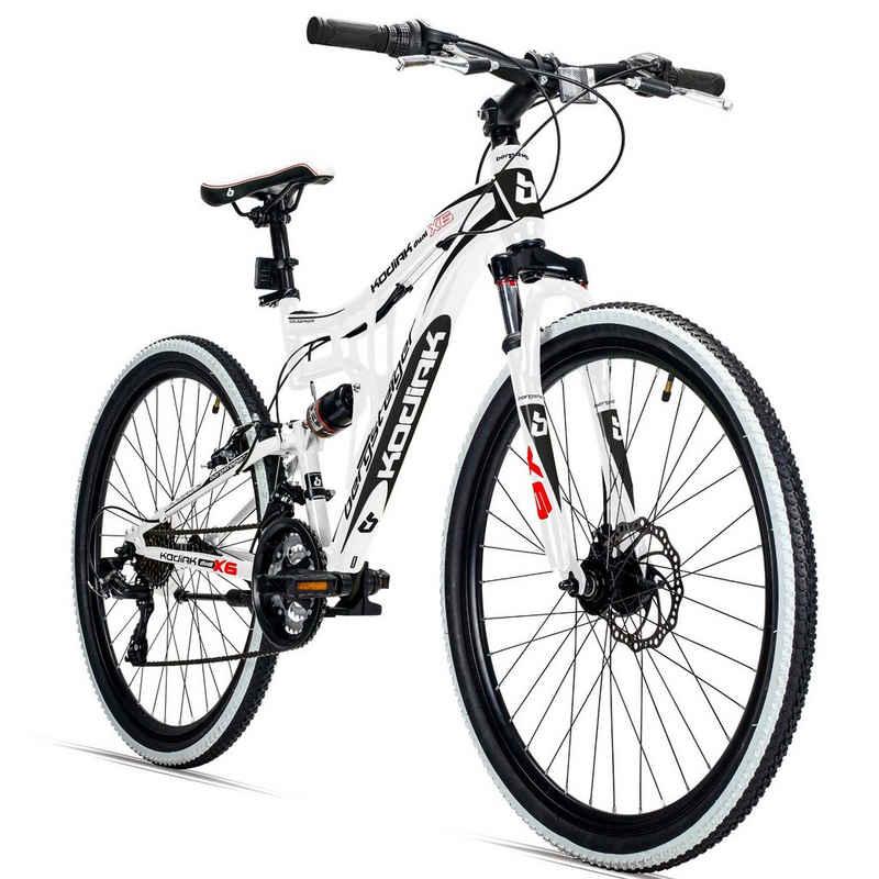 bergsteiger Mountainbike »Kodiak«, 21 Gang Shimano Tourney RD-TY300 Schaltwerk, Kettenschaltung