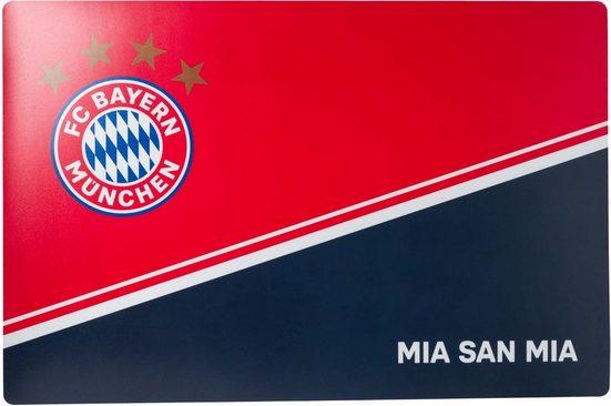 FC Bayern Schreibtischunterlage »Schreibtischauflage - FC Bayern - MIA SAN MIA«
