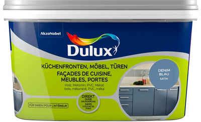 Dulux Holzlack »Fresh Up«, für Küchen, Möbel und Türen, denim blue, 2 l