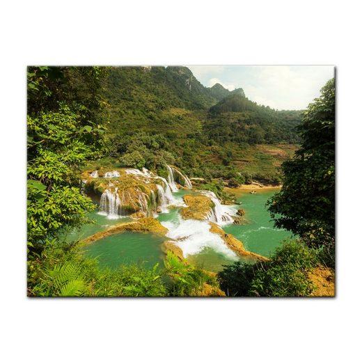 Bilderdepot24 Leinwandbild, Leinwandbild - Wasserfall in Vietnam II