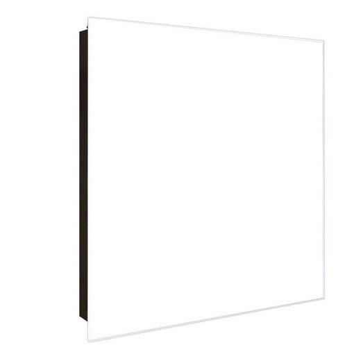 banjado Schlüsselkasten »Farbe Weiß«, 30 cm x 30 cm
