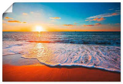 Artland Wandbild »Sonnenuntergang und das Meer«, Strand (1 Stück)