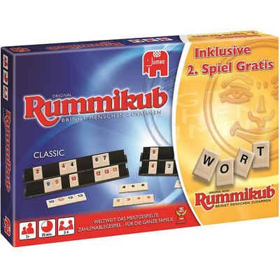 Jumbo Spiel, »Exklusivset Rummikub Classic + Wort«