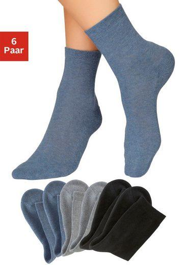 H.I.S Socken (6-Paar) mit bequemem Frottee