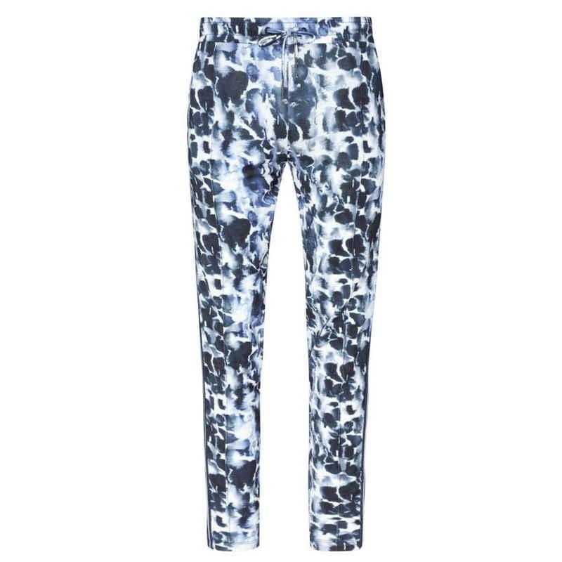 Jockey Schlafhose »Feel good Lounge« Pants - Lockere Passform, Spitzzulaufende Hose mit Bügelfalte, Elastischer Bund mit Zugband