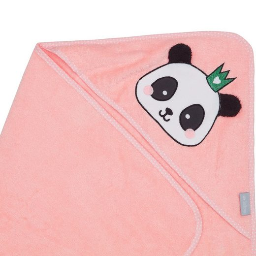 SEI Design Kapuzenhandtuch »Organic Panda aus Bio Baumwolle«, 80 x 80 cm