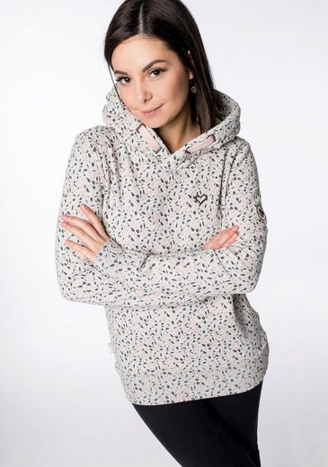 alife and kickin Sweatshirt »SarinaAK« Kapuzensweater mit buntem Print