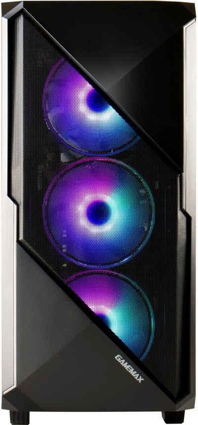 Hyrican Striker 6651 Gaming-PC (AMD Ryzen 5 5600X, GeForce RTX 3060, 16 GB RAM, 960 GB SSD, Wasserkühlung)