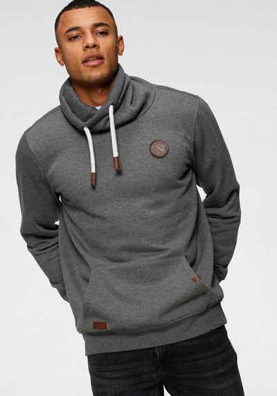 John Devin Sweatshirt mit Schlauchkragen