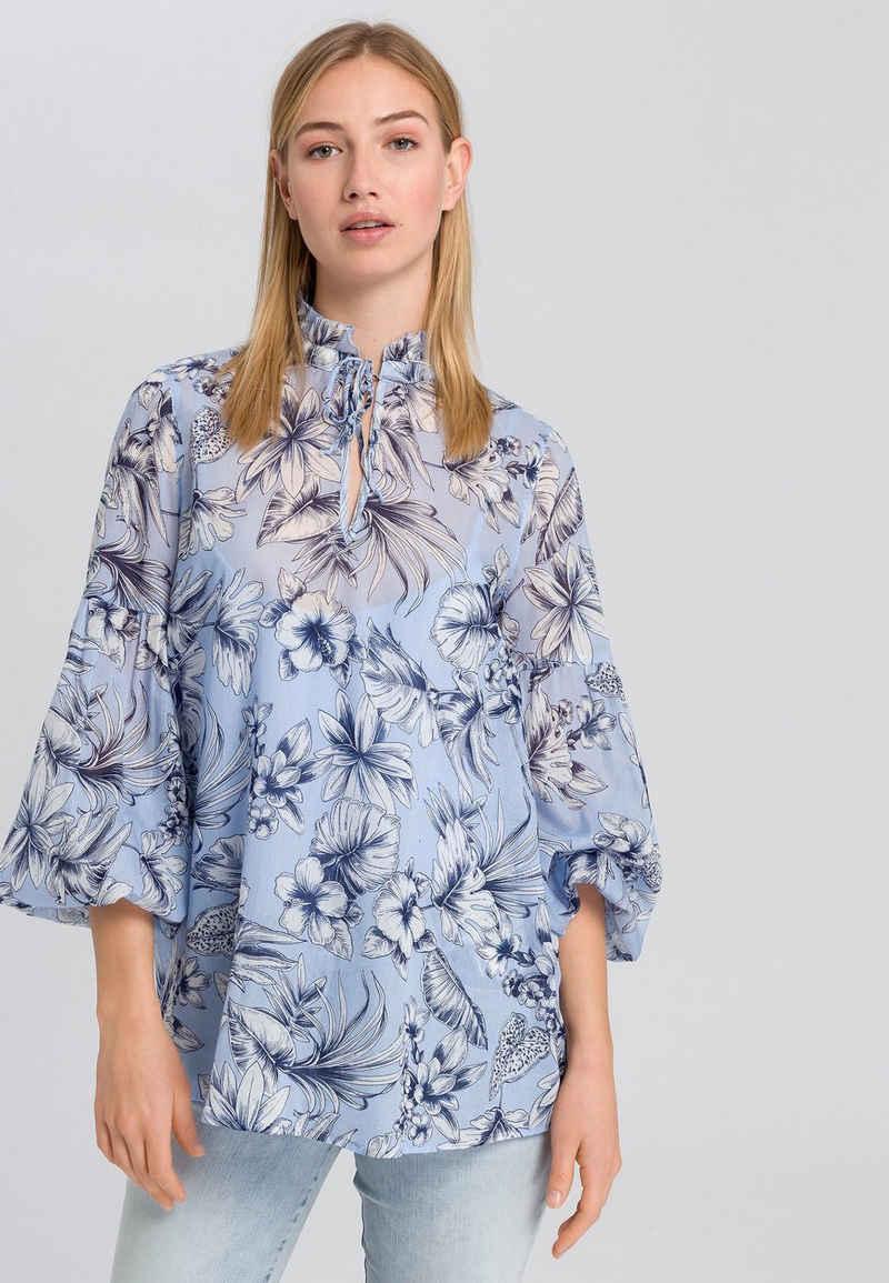 MARC AUREL Shirtbluse mit floralem Print