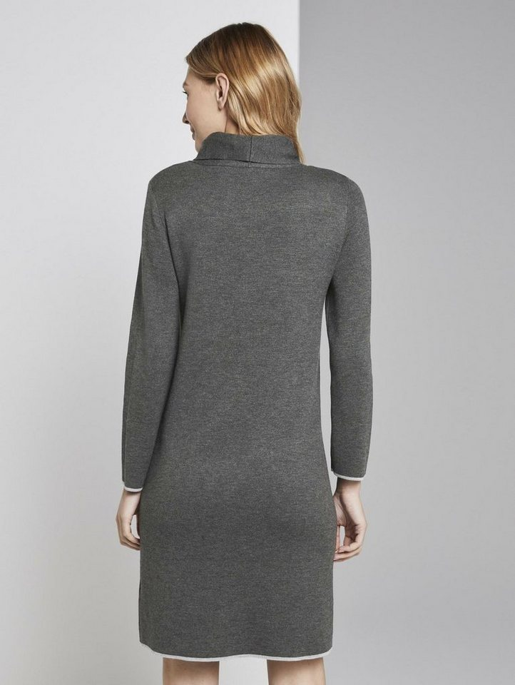 tom tailor -  Strickkleid »Mini-Kleid mit Taschen«
