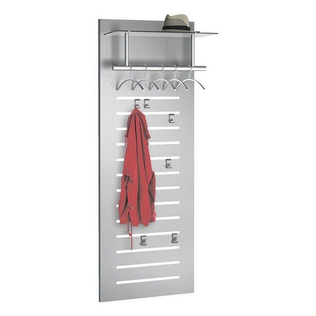 Garderoben Sets - KERKMANN Garderobe »Tec Art«, Hutablage aus Sicherheitsglas  - Onlineshop OTTO