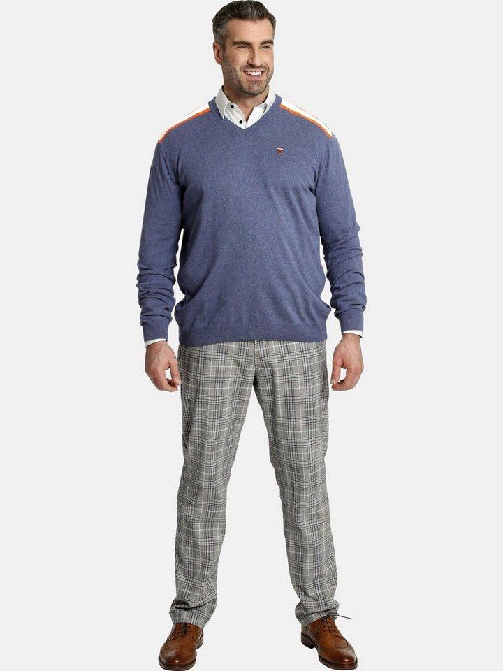 charles colby -  V-Ausschnitt-Pullover »EARL PERRYN« Strickpullover V-Ausschnitt