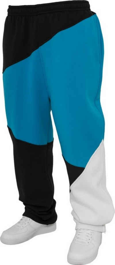 URBAN CLASSICS Sweathose »Zig Tag Sweatpants« aus pflegeleichter Baumwollmischung