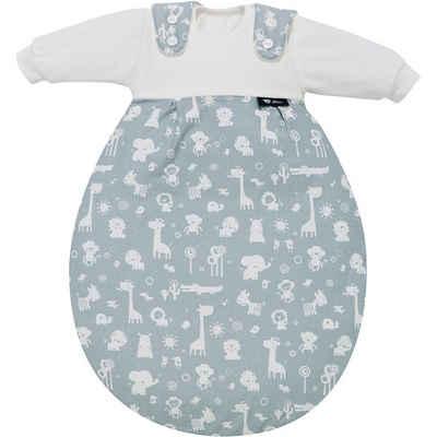Alvi® Babyschlafsack »Schlafsack Baby Mäxchen, Animals blau«