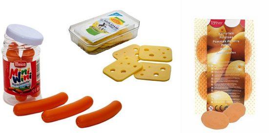 Tanner Kaufladensortiment »Würstchen, Käse, Kartoffel«, (Set)