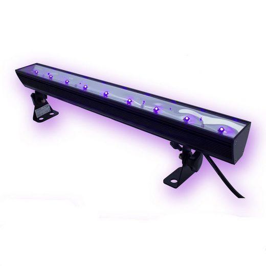 SATISFIRE Discolicht »UV50LED BAR - 9x3W Schwarzlicht Bar - Metallgehäuse schwenkbar - SATISFIRE«
