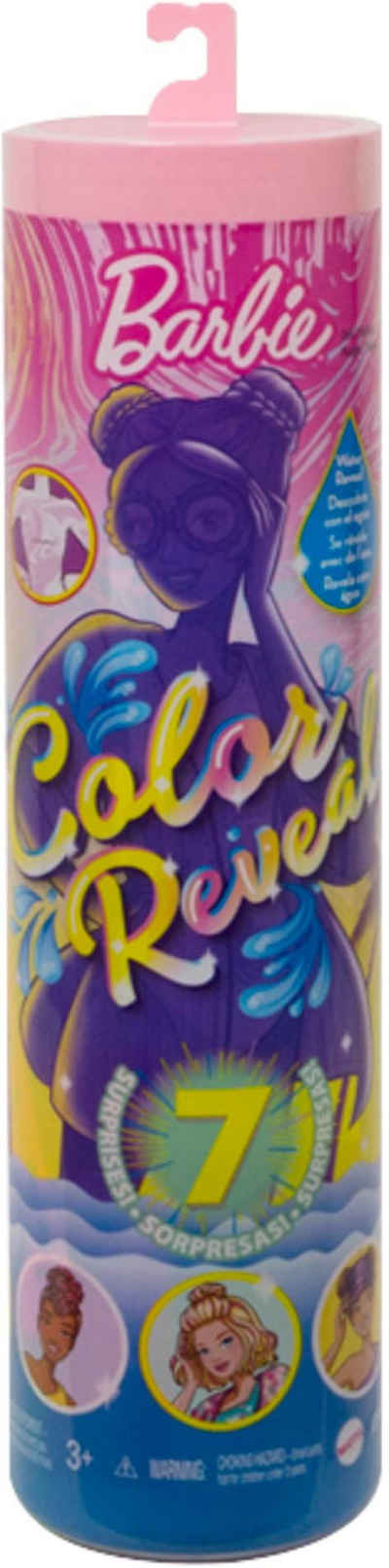 Barbie Anziehpuppe »Color Reveal, Sand & Sonne«