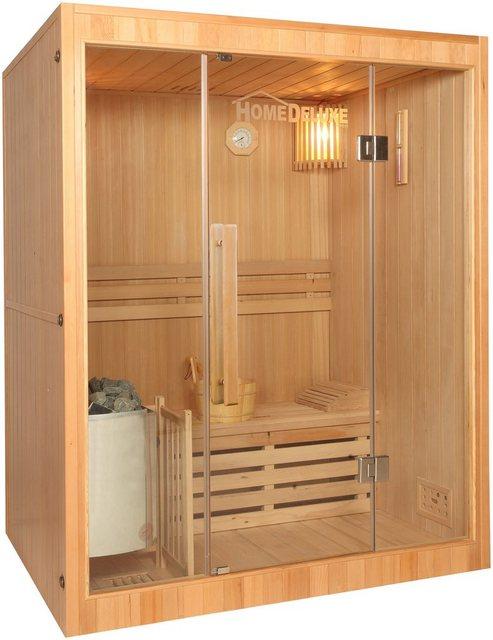 Saunen und Zubehör - HOME DELUXE Sauna »Skyline L«, BxTxH 150 x 120 x 190 cm, 50 mm, 4,5 kW Ofen mit int. Steuerung  - Onlineshop OTTO